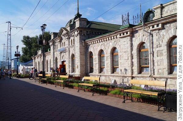 здание Ж\Д вокзала