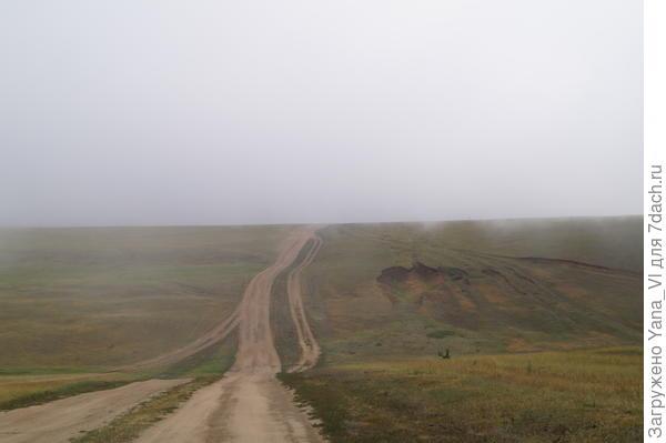 снова туман