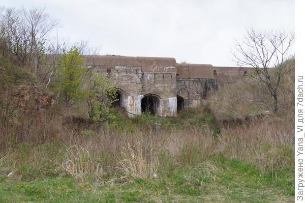 Входы в бастионы