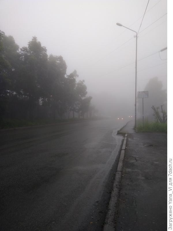опять туман