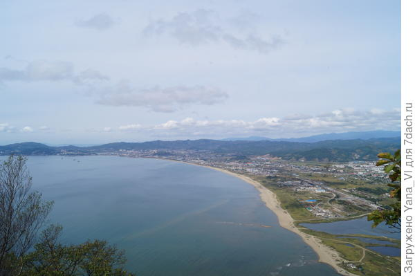 Вид с горы на г.Находку