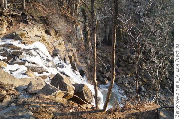И вот он - водопад!