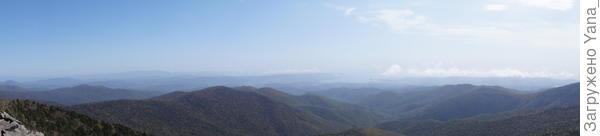 понорама с вершины