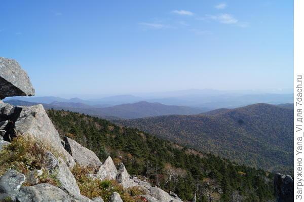 Здесь только горы до горизонта