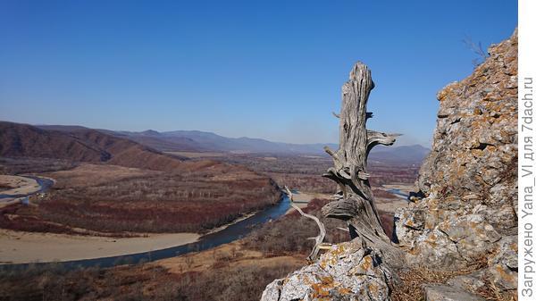 Вид на реку с горы