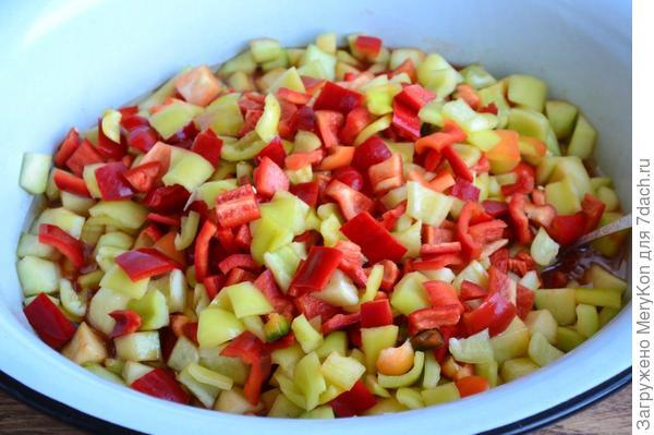 Салат кабачковый на зиму