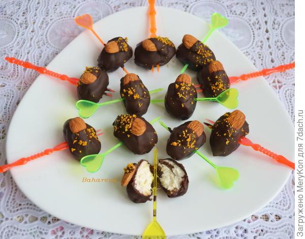 Десерт - Финики с секретом