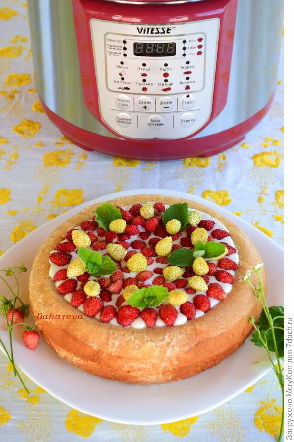 торт из скороварки
