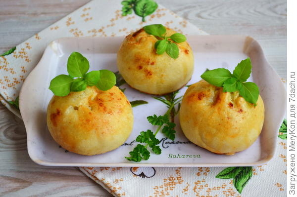 Бомбочки - с картофелем