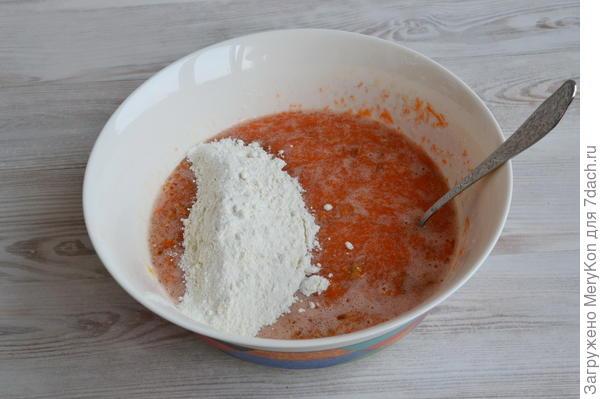 Морковный кекс