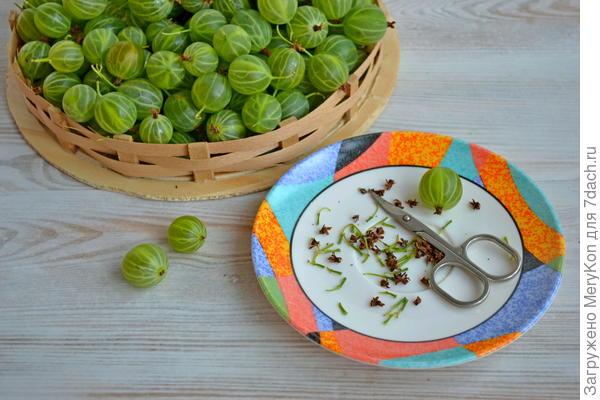 Крыжовник пряный - пошаговый рецепт приготовления с фото