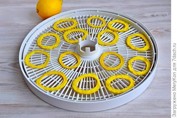 Кабачки вяленые «Лимонные кольца» - пошаговый рецепт приготовления с фото
