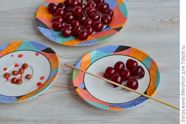 Патиссоны с вишней - пошаговый рецепт приготовления с фото
