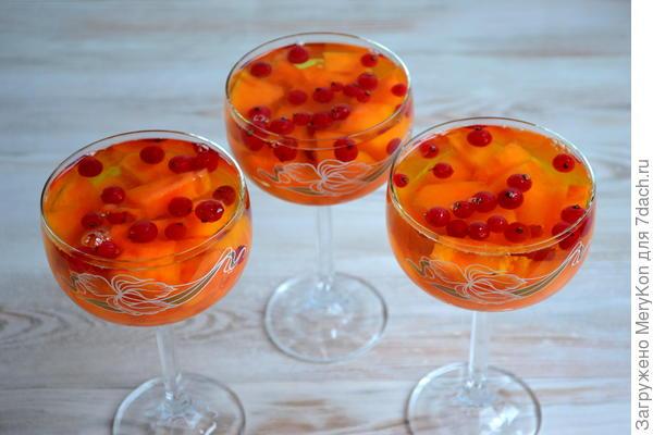 Фруктово-ягодное желе на новогоднем столе - пошаговый рецепт приготовления с фото