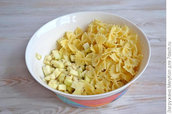 Фриттата с пастой и овощами - пошаговый рецепт приготовления с фото
