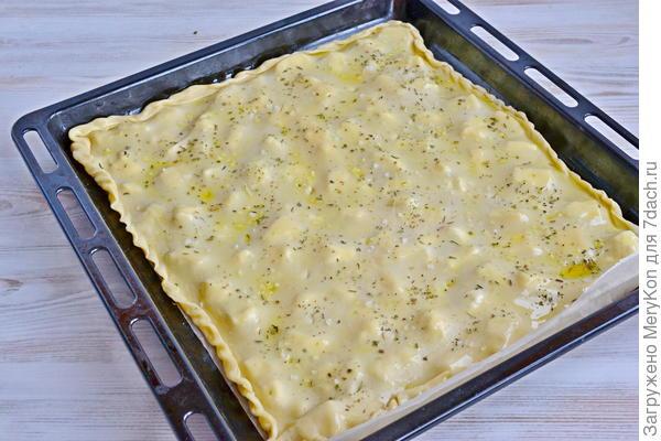 Фокачча ди Рекко (бездрожжевая) - пошаговый рецепт приготовления с фото
