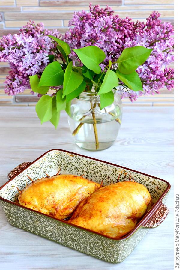Куриное филе, фаршированное гречкой - пошаговый рецепт приготовления с фото