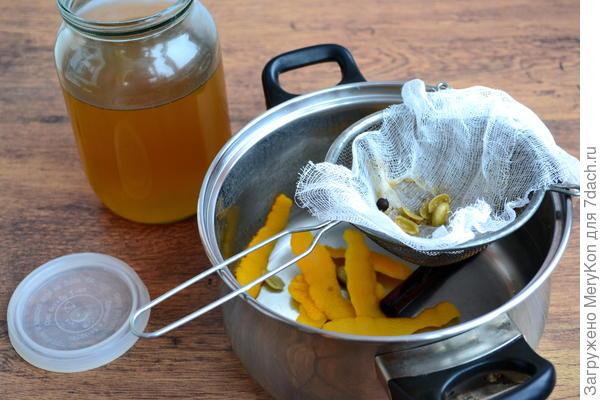 Крамбамбуля - белорусская настойка на меду. Пошаговый рецепт с фото