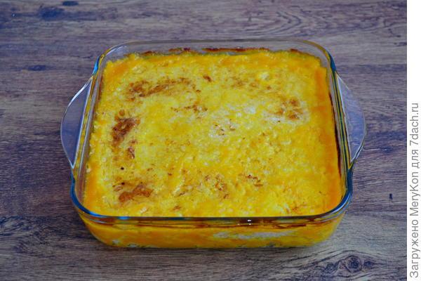 Каша тыквенно-рисовая. Пошаговый рецепт приготовления с фото
