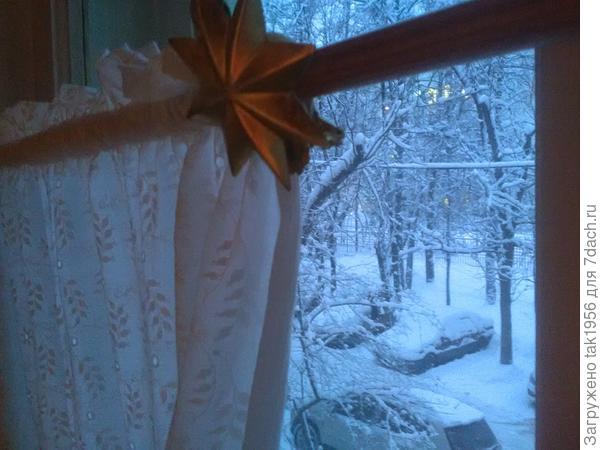 За окном зима...