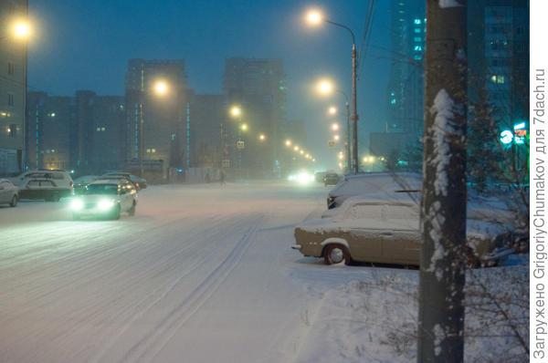 Зима -22С    19.11.2015