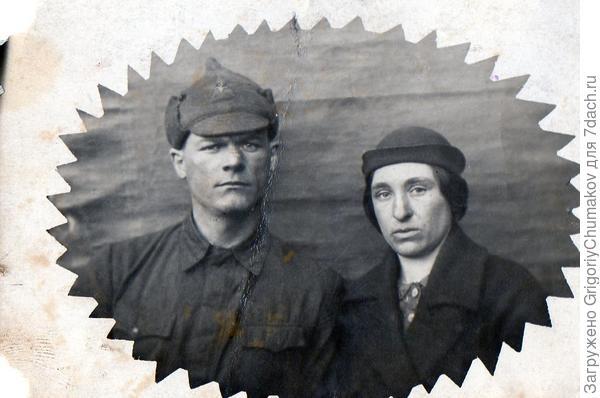 Фото моего прадеда с пробабушкой