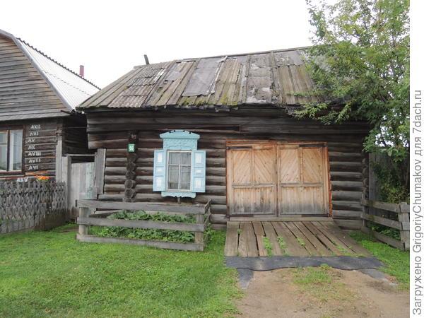 Дом из которого сделали гараж