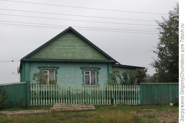 Дом в одной цветовой гамме