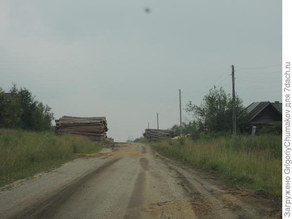 один из бывших жителей устроил леспромхоз на родной деревне