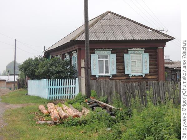 дом с проулка