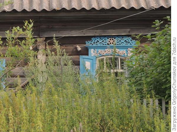 кокошник окна того же дома