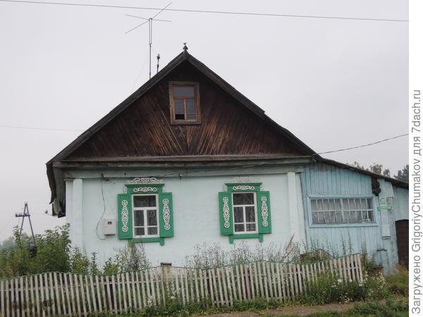Ещё домик с современным узором