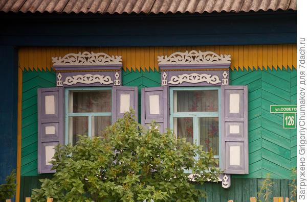 Окна дома по ул. Советской 126