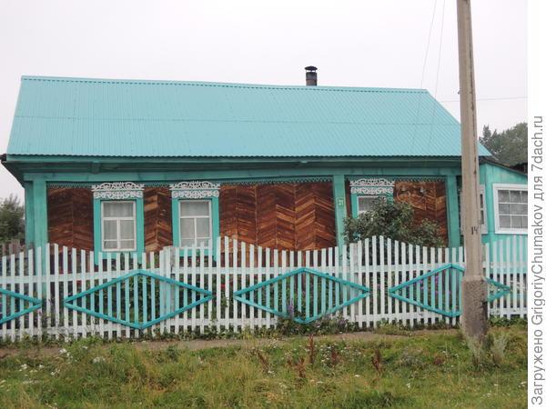 Ещё дом с современными узорами
