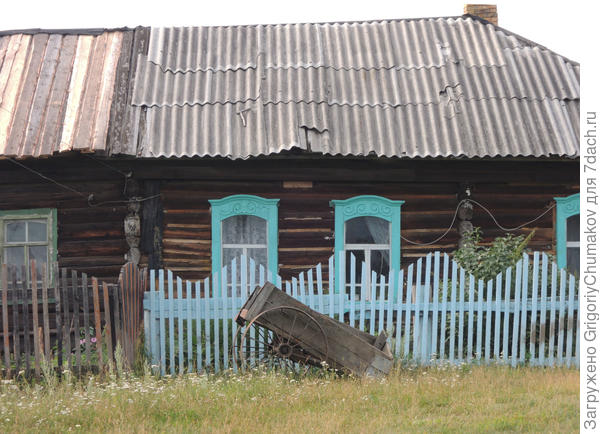 Дом д. Ивановки