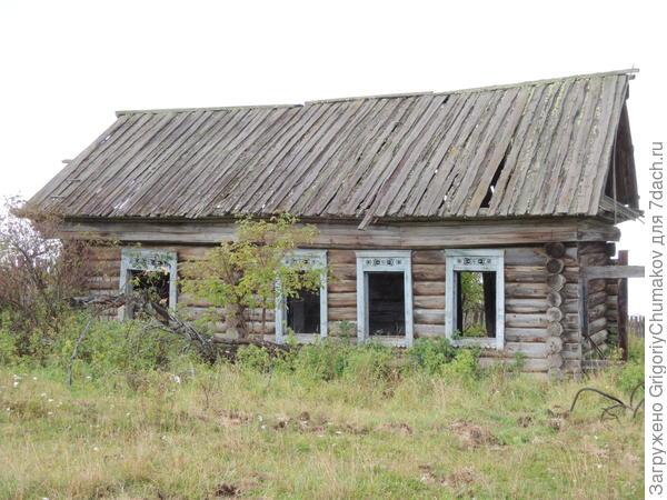 Пустой дом, примечательны узоры наоборот