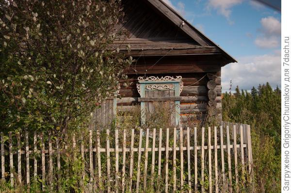 Старая Еловка окна