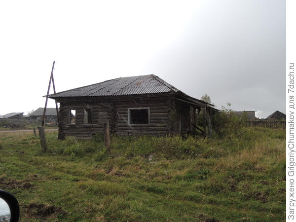 и ещё пустой дом