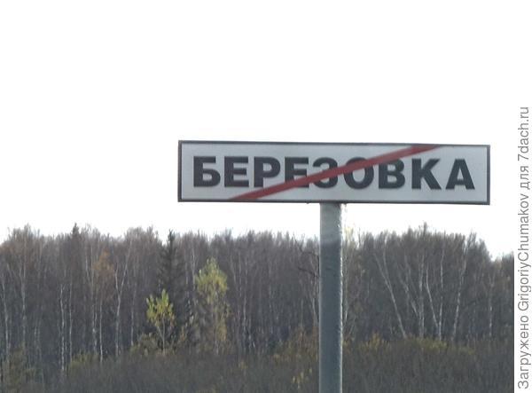 Пока Берёзовка! Долгих лет тебе!