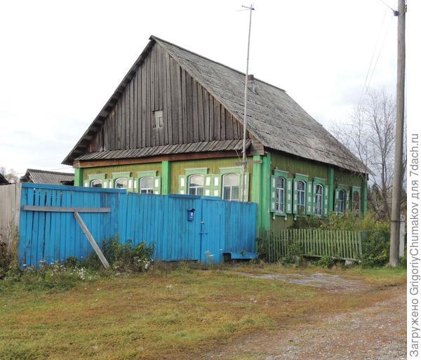 Дом со множеством окон