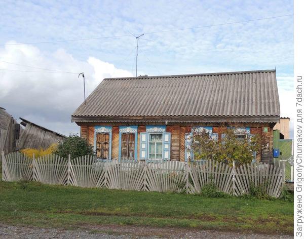 дом от окошек