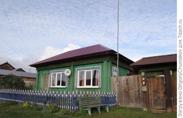 дом что с воротами