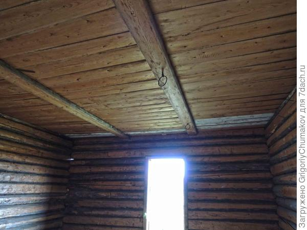 потолок и колечки