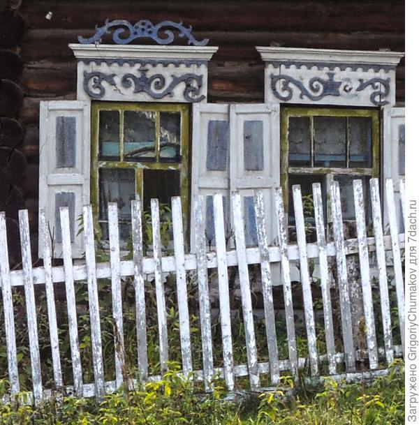 окна, дом совсем плох, поэтому только окна