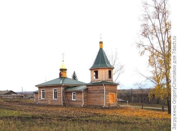 Новая церковь на старом месте