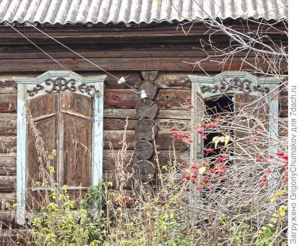 Окна с разрушенным узором