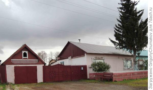 ещё дом с воротами