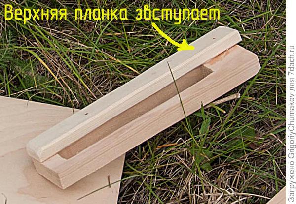 Рамочка для строительного уголка