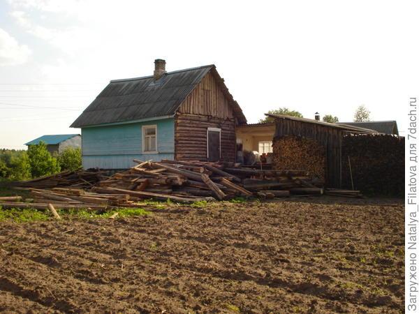 дом без сарая