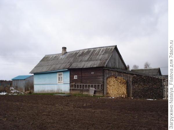 дом (вид на сарай)